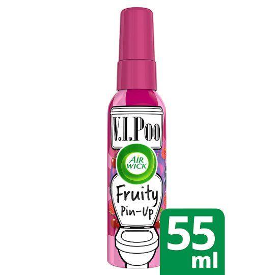 Airwick Vipoo Pre-Poo Toilet Spray Fruity 55ml