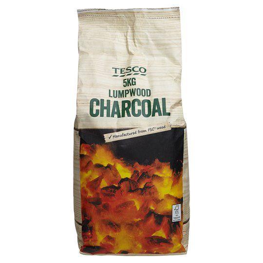 Tesco Charcoal Lumpwood 5kg