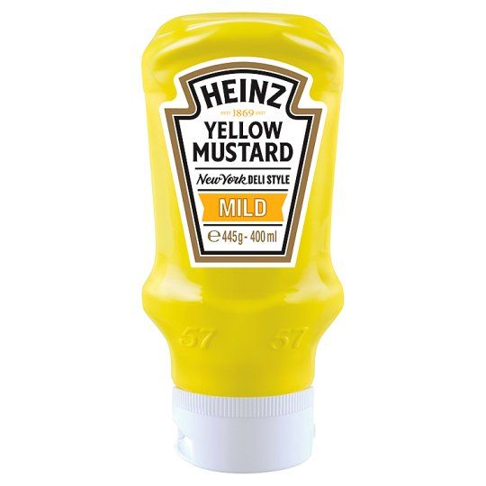 Heinz Mustard Yellow Mild 400ml