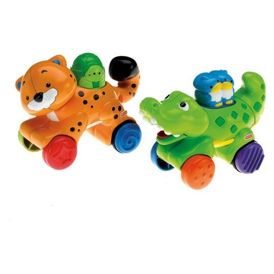 Fisher Price Press and Go Animals