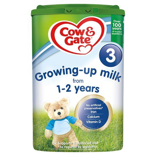 Cow & Gate 3 Growing Up Milk Powder 1+Yrs 800g