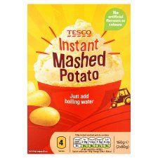 Tesco Instant Mashed Potato 160g