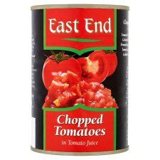 East End Chopped Tomatoes 400g