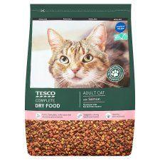 Tesco Salmon & Vegetables Dry Cat Food 3kg