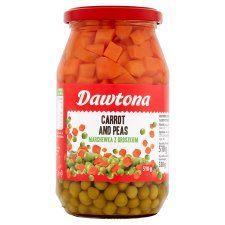 Dawtona Carrots With Peas 510g