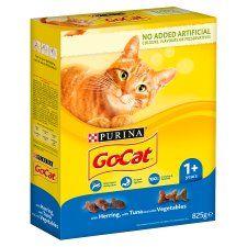 Go Cat Tuna Herring & Vegetable 825g