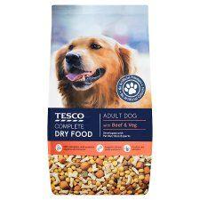 Tesco Beef & Vegetable Dry Dog Food 6kg