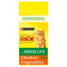 Go Cat For Indoor Cats Chicken & Vegetable 2kg