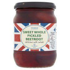 Tesco Whole Baby Sweet Beetroot In Vinegar 340g