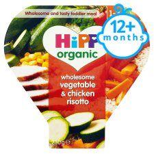 Hipp Organic 1 Year Vegetable & Chicken Risotto 230g