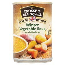 Crosse and Blackwell Best of British Winter Vegetable Soup 400g