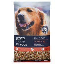 Tesco Beef & Vegetable Dry Dog Food 12kg