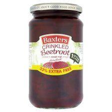 Baxters Crinkle Cut Beetroot 340g