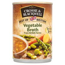 Crosse and Blackwell Best of British Vegetable Broth Soup 400g