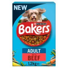 Bakers Dog Food Beef and Vegetables 1.2kg