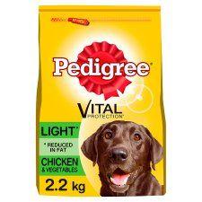 Pedigree Chicken and Vegetable Light Dry Dog Food 2.2kg