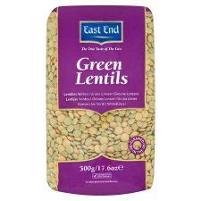 East End Green Lentils 500g