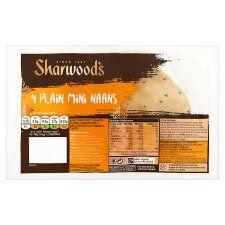 Sharwoods Mini Plain Naan 4 Pack 160g