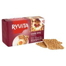 Ryvita Dark Rye Crisp Bread 250g