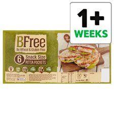 Bfree Stone Bake Gluten Free Pitta Bread 6X32g