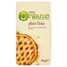 Tesco Organic Plain Flour 1kg