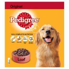 Pedigree Can Original Loaf Tinned Dog Food 400g