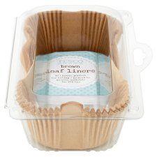 Tesco 2Lb Brown Loaf Liners 20 Pack