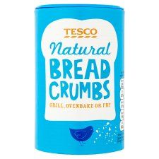 Tesco Natural Breadcrumbs 175g
