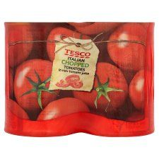 Tesco Italian Chopped Tomatoes 4 X 400g