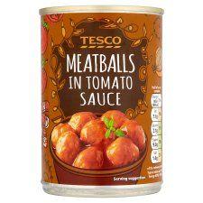 Tesco Meatballs In Tomato Sauce 395g