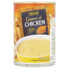 Tesco Cream of Chicken Soup 400g