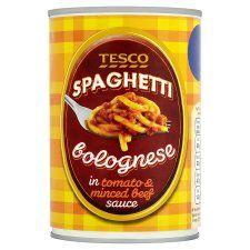 Tesco Spaghetti Bolognese 400g
