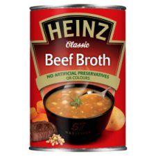 Heinz Beef Broth Soup 400g