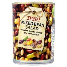 Tesco Mixed Bean Salad In Water 400g