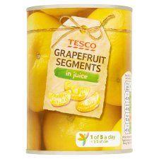 Tesco Grapefruit Segments In Juice 538g