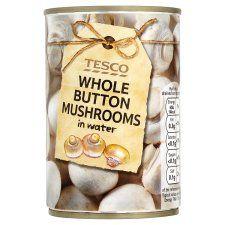 Tesco Whole Button Mushroom 285g