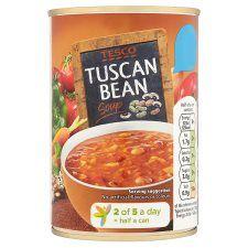 Tesco Tuscan Bean Soup 400g