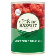 Grower's Harvest Chopped Tomatoes 400g