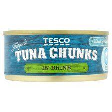 Tesco Tuna Chunks Brine 160g
