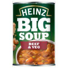 Heinz Big Beef & Vegetable Soup 400g
