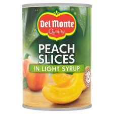 Del Monte Peach Slices Light Syrup 420g