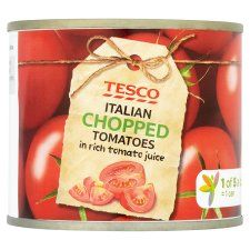 Tesco Italian Chopped Tomatoes 227g