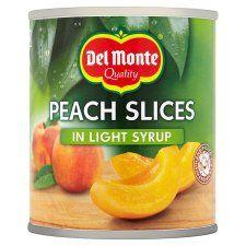 Del Monte Peach Slices Light Syrup 227g