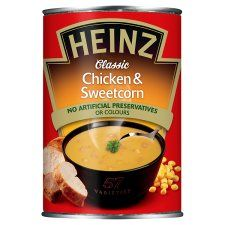 Heinz Chicken & Sweetcorn Soup 400g