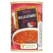 Tesco Mulligatawny Soup 400g
