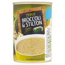 Tesco Broccoli and Stilton Soup 400g
