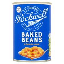 Stockwell & Co Baked Beans In Tomato Sauce 420g