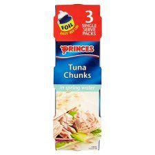 Princes Tuna Chunks Spring Water 3X80g