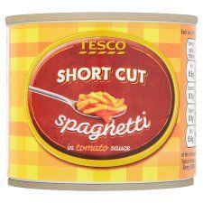 Tesco Short Cut Spaghetti 215g