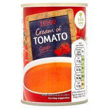 Tesco Cream of Tomato Soup 295g
